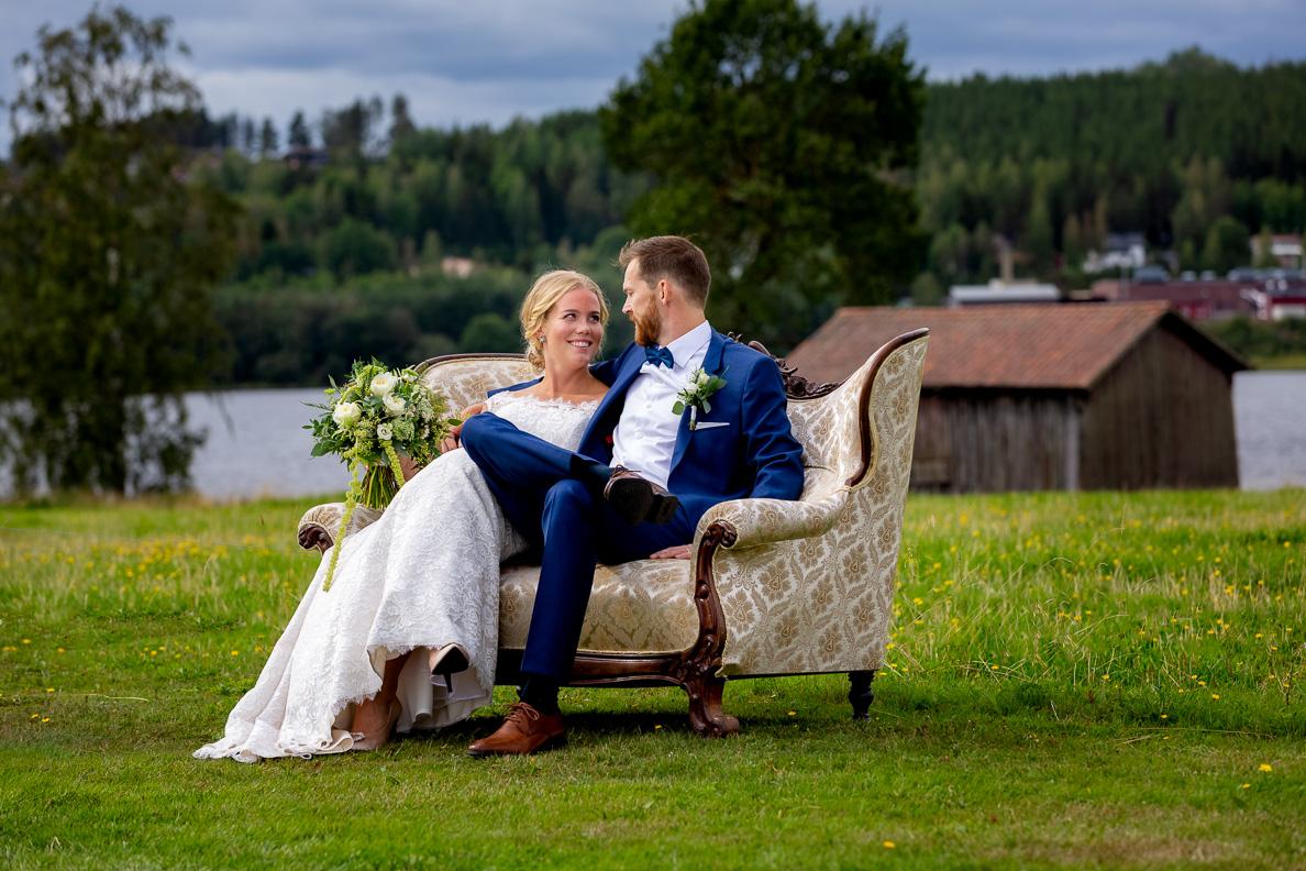 Bröllpsfotografering Ovanåkers Kyrka, Hälsingland